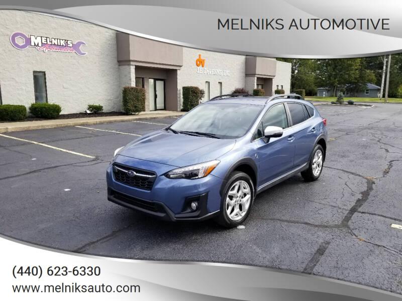 2018 Subaru Crosstrek for sale at Melniks Automotive in Berea OH