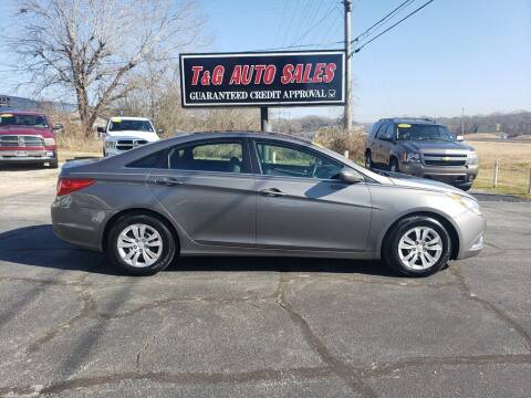 2011 Hyundai Sonata for sale at T & G Auto Sales in Florence AL