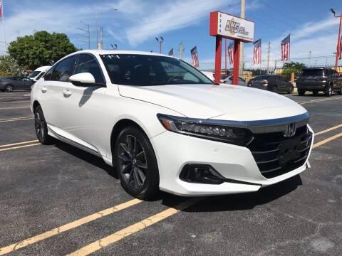 2021 Honda Accord for sale at LKG Auto Sales Inc in Miami FL