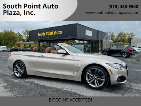 2016 BMW 4 Series for sale at South Point Auto Plaza, Inc. in Albany NY