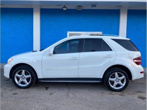2010 Mercedes-Benz M-Class for sale at Khodas Cars in Gilroy CA