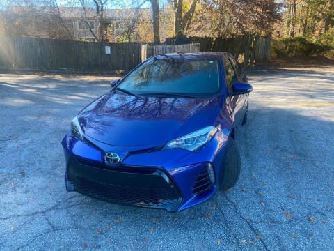 2018 Toyota Corolla for sale at BRAVA AUTO BROKERS LLC in Clarkston GA