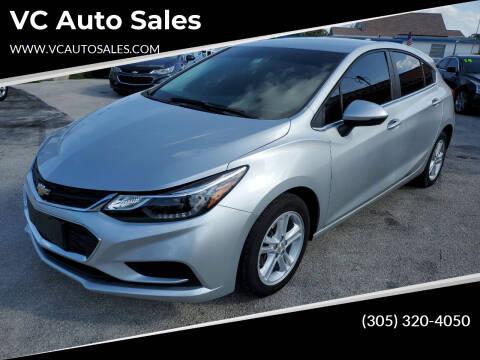 2017 Chevrolet Cruze for sale at VC Auto Sales in Miami FL