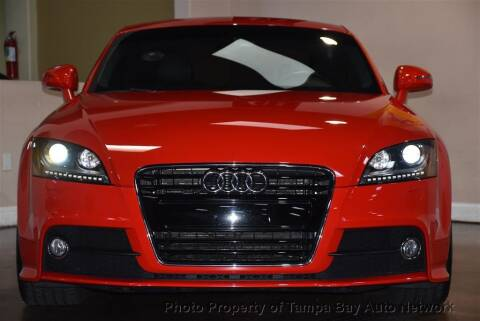 2014 Audi TT for sale at Tampa Bay AutoNetwork in Tampa FL