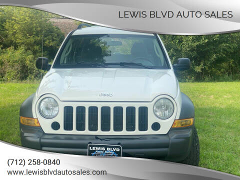 2006 Jeep Liberty for sale at Lewis Blvd Auto Sales in Sioux City IA