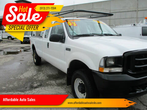 2003 Ford F-250 Super Duty for sale at Affordable Auto Sales in Olathe KS