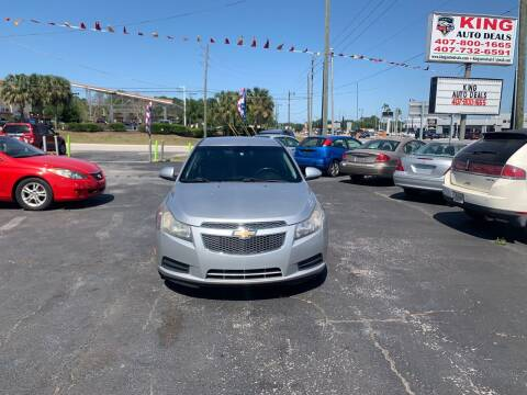 2013 Chevrolet Cruze for sale at King Auto Deals in Longwood FL