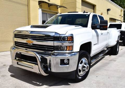2017 Chevrolet Silverado 3500HD for sale at Thoroughbred Motors in Wellington FL