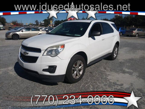 2013 Chevrolet Equinox for sale at J D USED AUTO SALES INC in Doraville GA