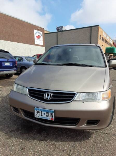 2004 Honda Odyssey for sale at Family Auto Sales in Maplewood MN