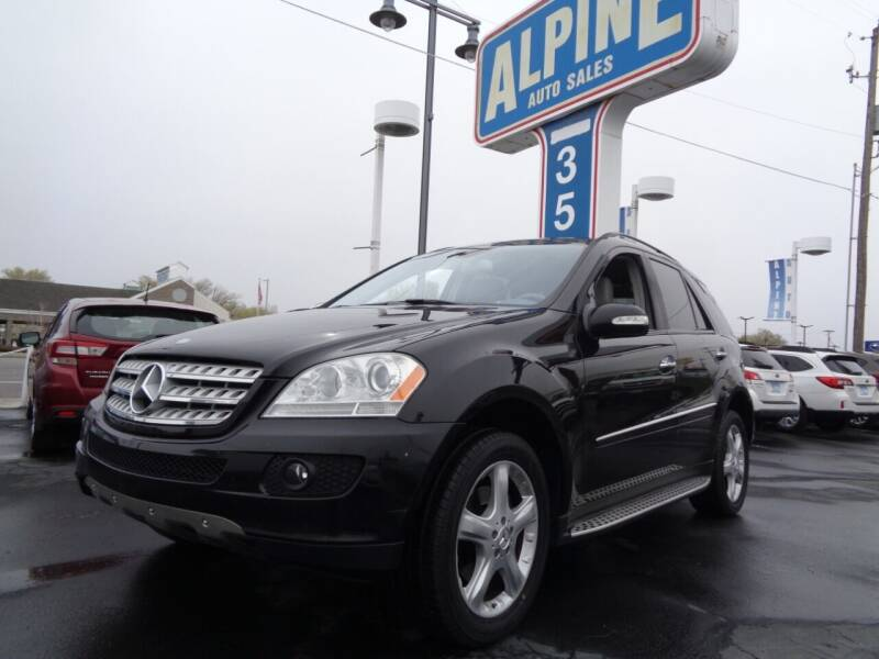 2007 Mercedes-Benz M-Class for sale at Alpine Auto Sales in Salt Lake City UT