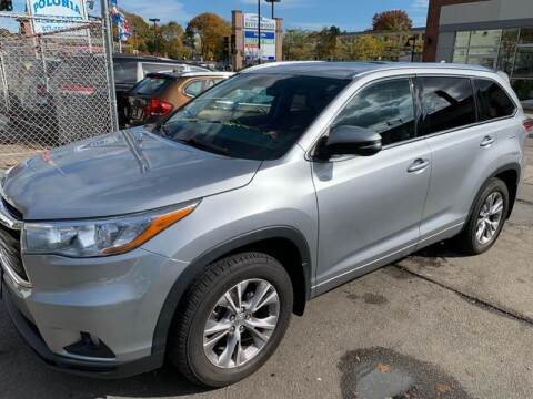 2015 Toyota Highlander for sale at Polonia Auto Sales and Service in Hyde Park MA