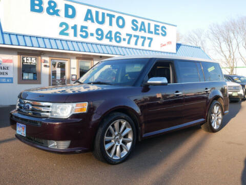 2011 Ford Flex for sale at B & D Auto Sales Inc. in Fairless Hills PA