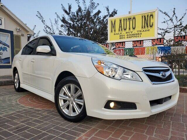 2012 Subaru Legacy for sale at M AUTO, INC in Millcreek UT