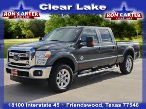 2016 Ford F-250 Super Duty for sale at Ron Carter  Clear Lake Used Cars in Houston TX