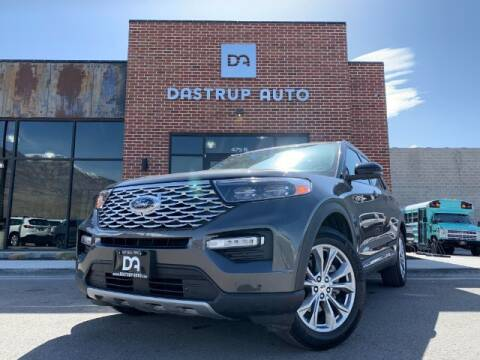2020 Ford Explorer for sale at Dastrup Auto in Lindon UT