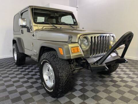 2006 Jeep Wrangler for sale at Sunset Auto Wholesale in Tacoma WA