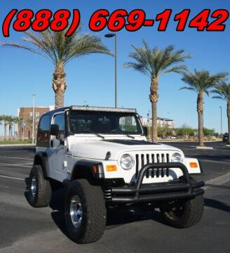 1998 Jeep Wrangler for sale at AZMotomania.com in Mesa AZ