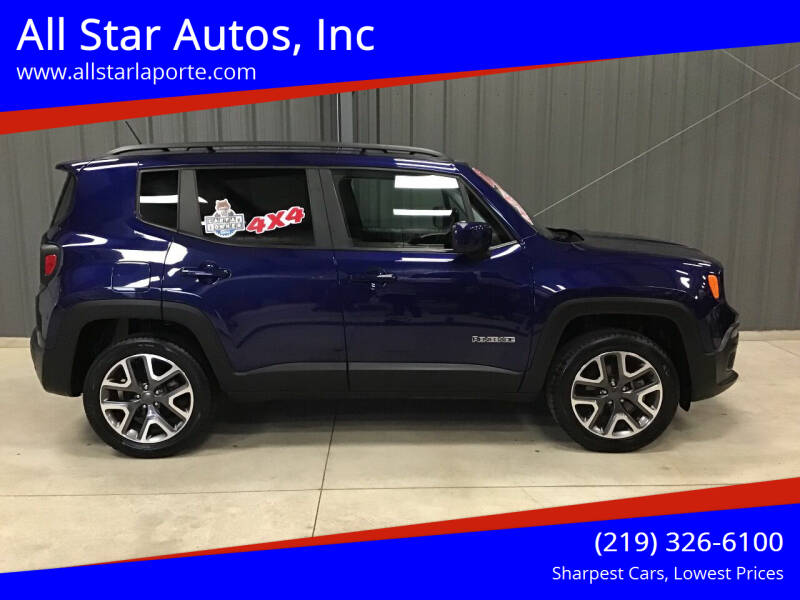2017 Jeep Renegade for sale at All Star Autos, Inc in La Porte IN