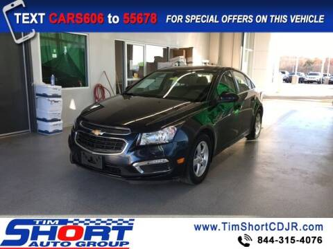 2016 Chevrolet Cruze Limited for sale at Tim Short Chrysler in Morehead KY