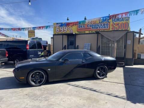 2013 Dodge Challenger for sale at DEL CORONADO MOTORS in Phoenix AZ