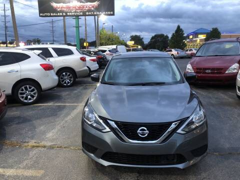 2018 Nissan Sentra for sale at Washington Auto Group in Waukegan IL