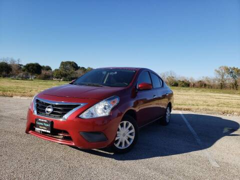 2016 Nissan Versa for sale at Laguna Niguel in Rosenberg TX