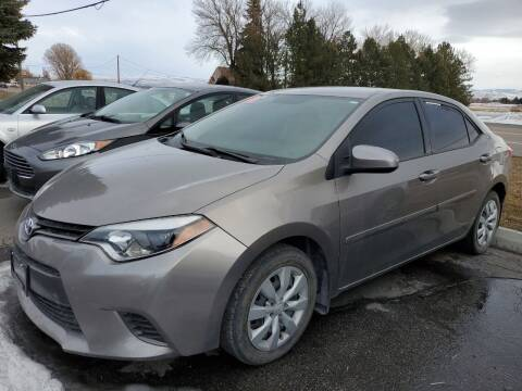 2016 Toyota Corolla for sale at Revolution Auto Group in Idaho Falls ID