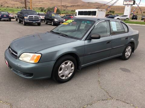 2001 Subaru Legacy for sale at Super Sport Motors LLC in Carson City NV