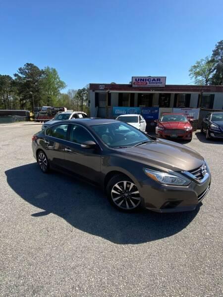 2016 Nissan Altima for sale at Unicar Enterprise in Lexington SC