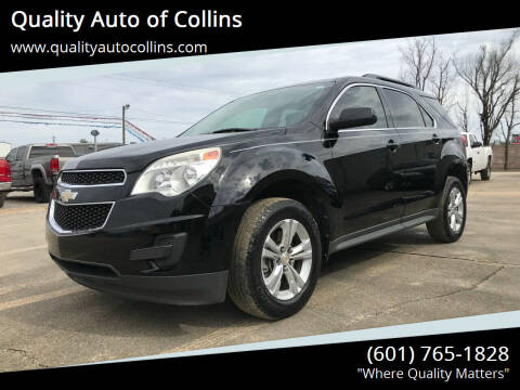2011 Chevrolet Equinox for sale at Quality Auto of Collins in Collins MS