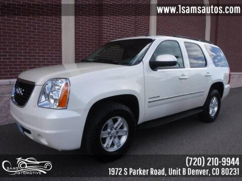 2012 GMC Yukon for sale at SAM'S AUTOMOTIVE in Denver CO