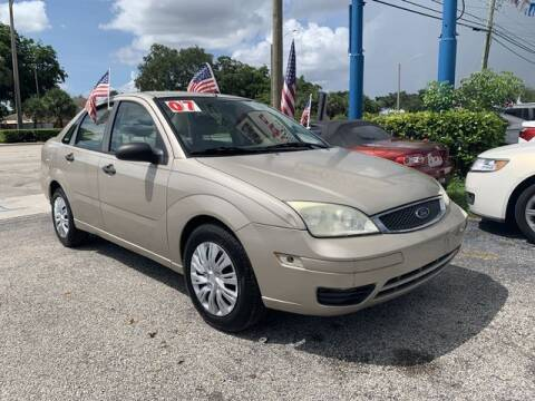 2007 Ford Focus for sale at AUTO PROVIDER in Fort Lauderdale FL