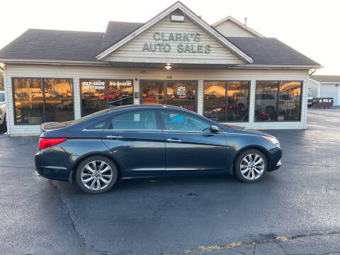 2012 Hyundai Sonata for sale at Clarks Auto Sales in Middletown OH