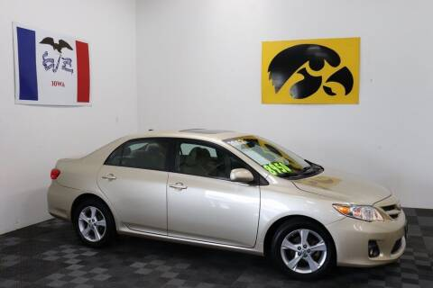 2012 Toyota Corolla for sale at Carousel Auto Group in Iowa City IA