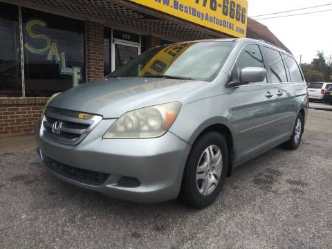 2005 Honda Odyssey for sale at Best Buy Autos in Mobile AL