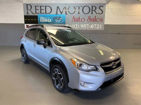 2015 Subaru XV Crosstrek for sale at REED MOTORS LLC in Phoenix AZ