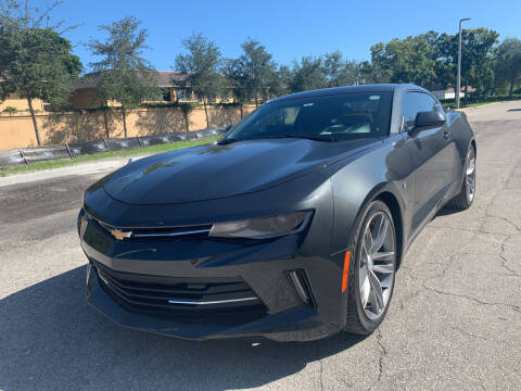 2016 Chevrolet Camaro for sale at Eden Cars Inc in Hollywood FL