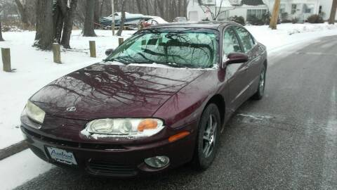 2003 Oldsmobile Aurora for sale at USA AUTO WHOLESALE LLC in Cleveland OH