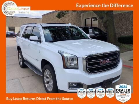 2018 GMC Yukon for sale at Dallas Auto Finance in Dallas TX