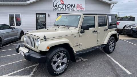 2018 Jeep Wrangler JK Unlimited for sale at Action Motor Sales in Gaylord MI