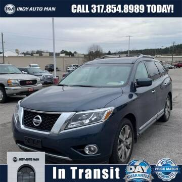 2016 Nissan Pathfinder for sale at INDY AUTO MAN in Indianapolis IN