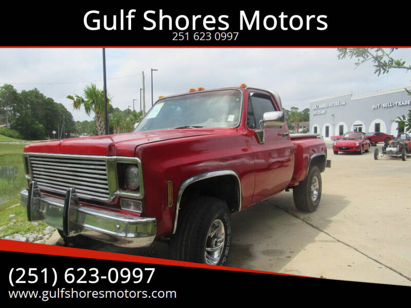 1977 Chevrolet C/K 1500 Series for sale at Gulf Shores Motors in Gulf Shores AL