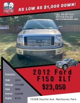 2012 Ford F-150 for sale at Carz R Us in Machesney Park IL