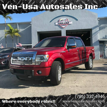 2013 Ford F-150 for sale at Ven-Usa Autosales Inc in Miami FL