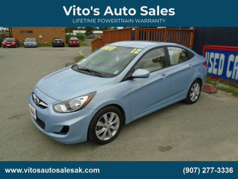 2012 Hyundai Accent for sale at Vito's Auto Sales in Anchorage AK