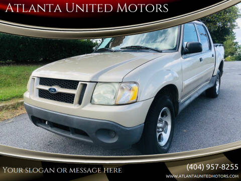 2004 Ford Explorer Sport Trac for sale at Atlanta United Motors in Buford GA