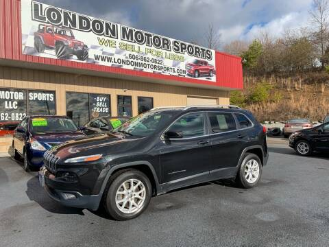 2015 Jeep Cherokee for sale at London Motor Sports, LLC in London KY