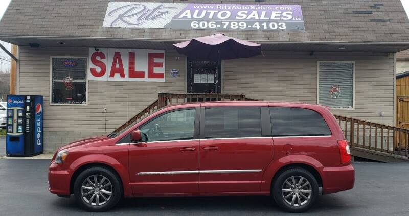 2014 Chrysler Town and Country for sale at Ritz Auto Sales, LLC in Paintsville KY