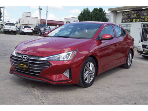 2020 Hyundai Elantra for sale at Credit Connection Sales in Fort Worth TX
